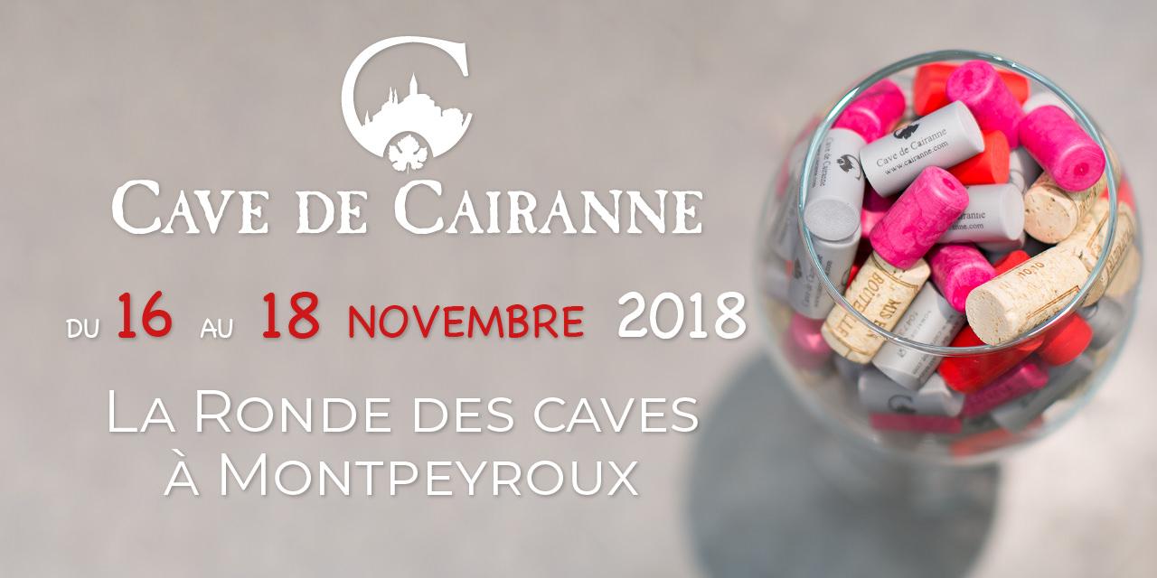 Ronde des caves à Montpeyroux du 16 au 18 Novembre