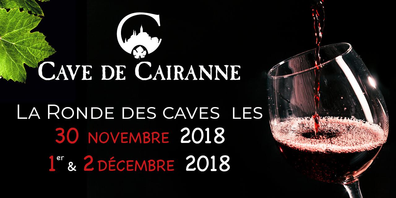 Ronde des caves les 30 Novembre 1er & 2 Décembre 2018 à Vincelles