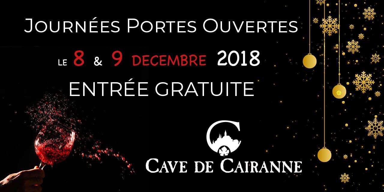 Journées Portes ouvertes le 8 & 9 Décembre 2018