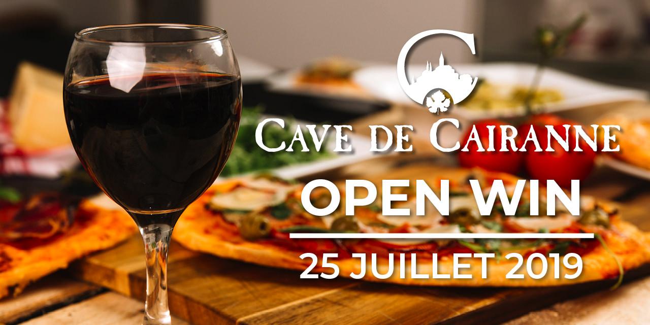 open wine 25 juillet 2019