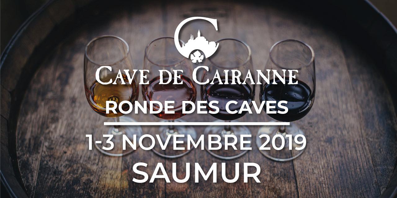 du 1 au 3 Novembre 2019 – Ronde des Caves à Saumur