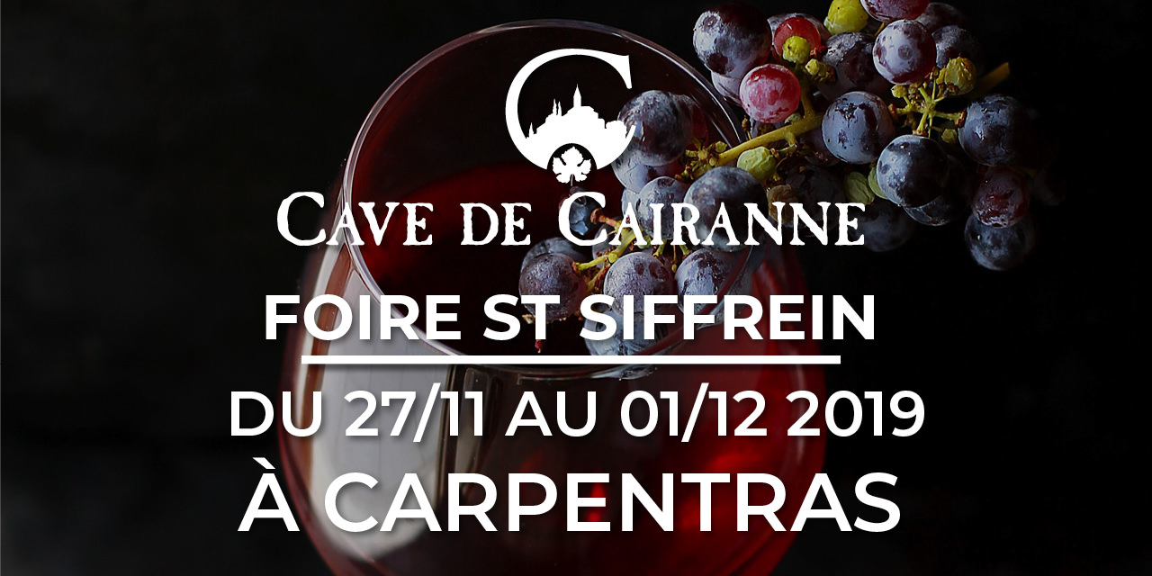 Foire st siffrein du 27/11 au 1/12 2019