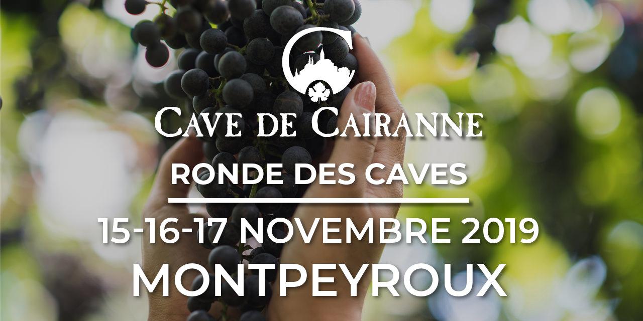du 15 au 17 Novembre 2019 – Ronde des Caves à Montpeyroux
