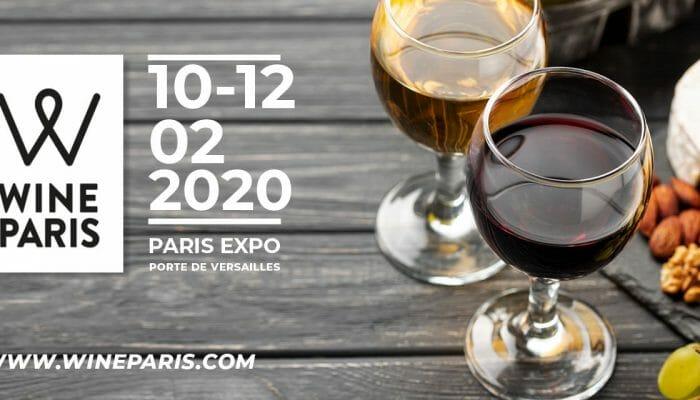 Nous serons présents au salon Wine Paris du lundi 10 au mercredi 12 Février