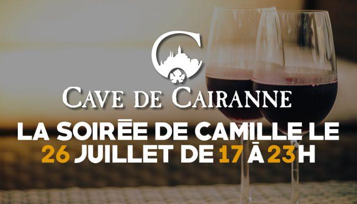 La soirée de Camille le 26 Juillet 2020 de 17h à 23h