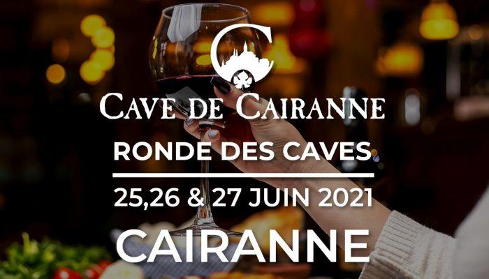 Ronde des Caves a Cairanne du 25 au 27 Juin 2021