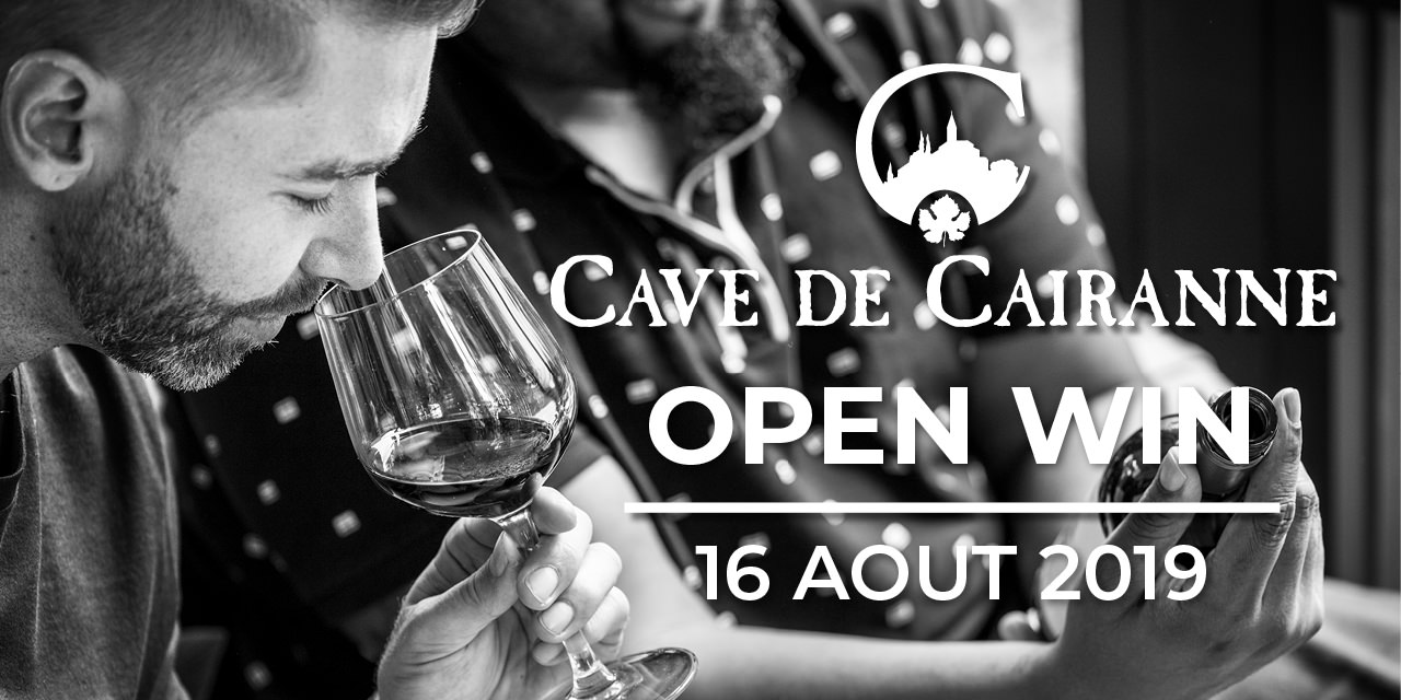 Open Wine on August 16, 2019 – Free admission